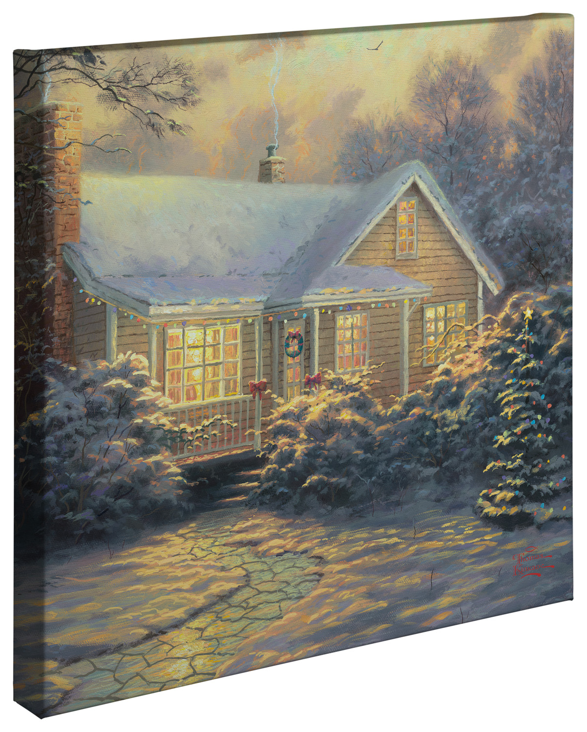 Christmas Cottage Movie Release 20 X 20 Gallery