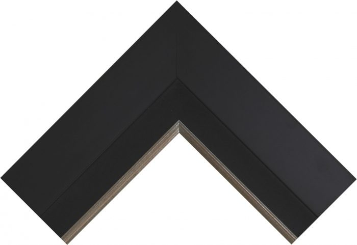 City Black – Limited Edition Canvas Frame
