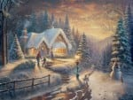 Country Christmas Homecoming – Limited Edition Canvas