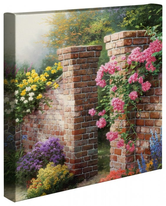 Rose Garden, The – 14″ x 14″ Gallery Wrapped Canvas