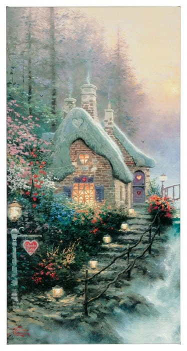 Sweetheart Cottage II – 16″ x 31″ Gallery Wrapped Canvas