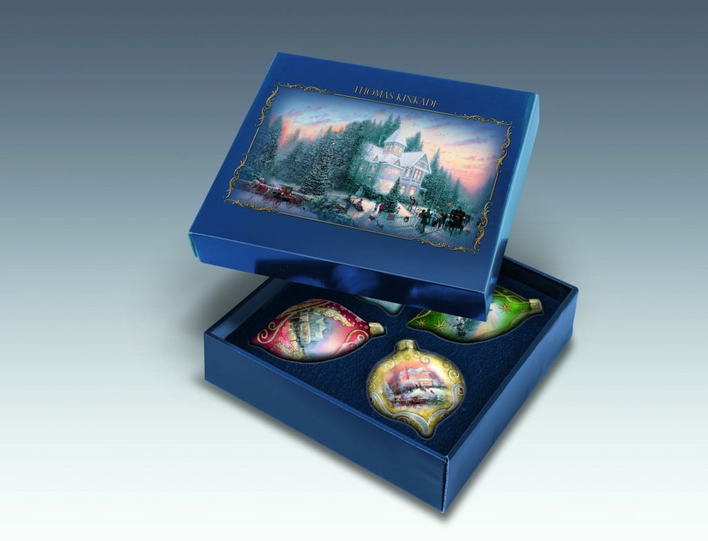 The Bradford Exchange Thomas Kinkade Christmas Ornaments