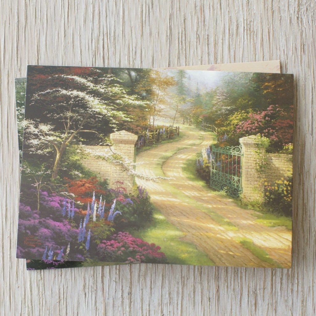 Dayspring Thomas Kinkade Thank You Cards