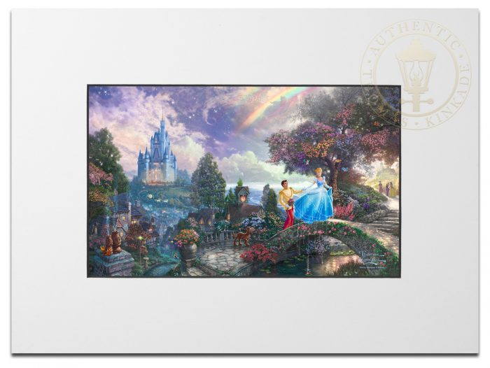 Cinderella Wishes Upon a Dream – Matted Print