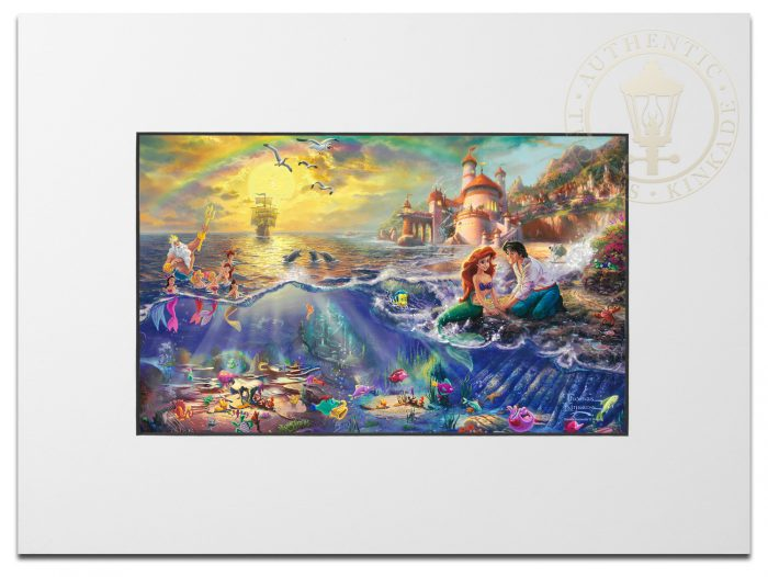 Little Mermaid, The – Matted Print