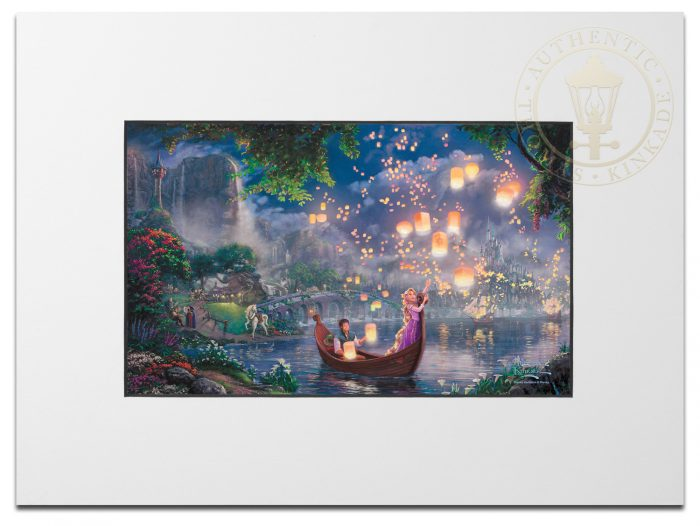 Tangled – Matted Print