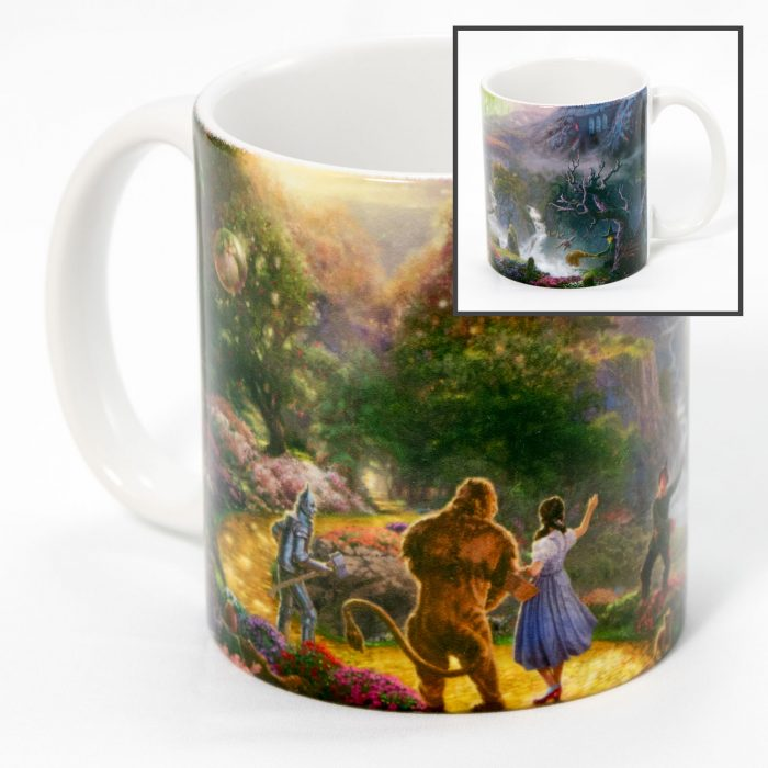 Dorothy Discovers the Emerald City – Ceramic Mug, 12 oz