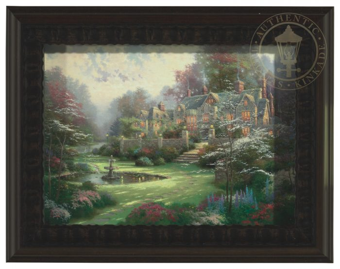 Gardens Beyond Spring Gate – Shadow Box Canvas Print