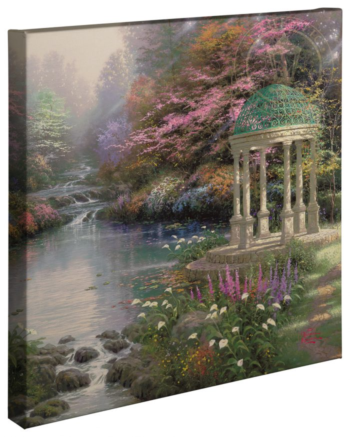 Garden of Prayer, The – 20″ x 20″ Gallery Wrapped Canvas