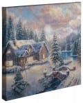 High Country Christmas – 20″ x 20″ Gallery Wrapped Canvas