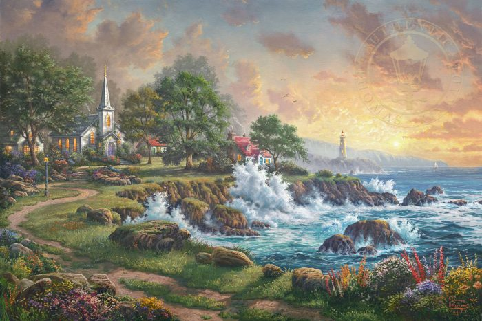 Seaside Haven – Limited Edition Canvas