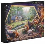 Snow White and the Seven Dwarfs – 8″ x 10″ Gallery Wrapped Canvas
