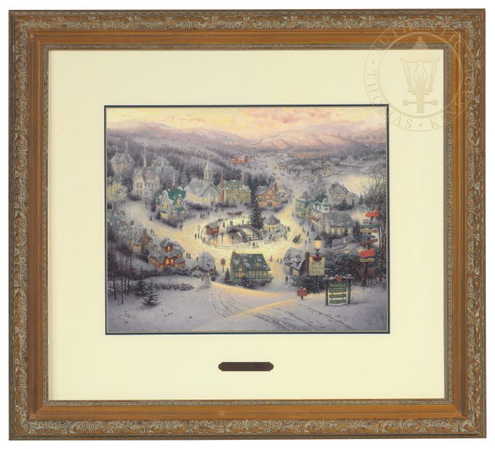 St. Nicholas Circle – Framed Matted Print