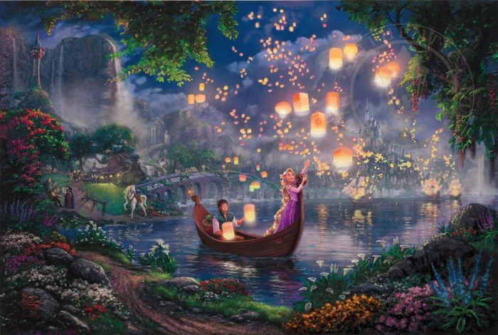 Tangled – Limited Edition Canvas
