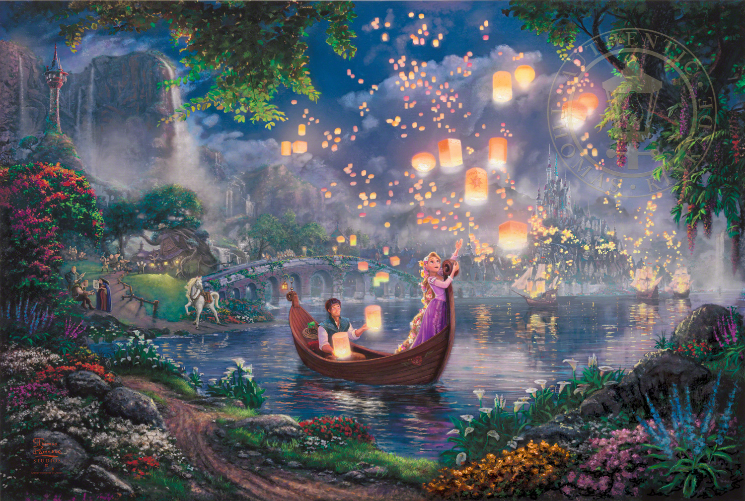 Tangled Limited Edition Art