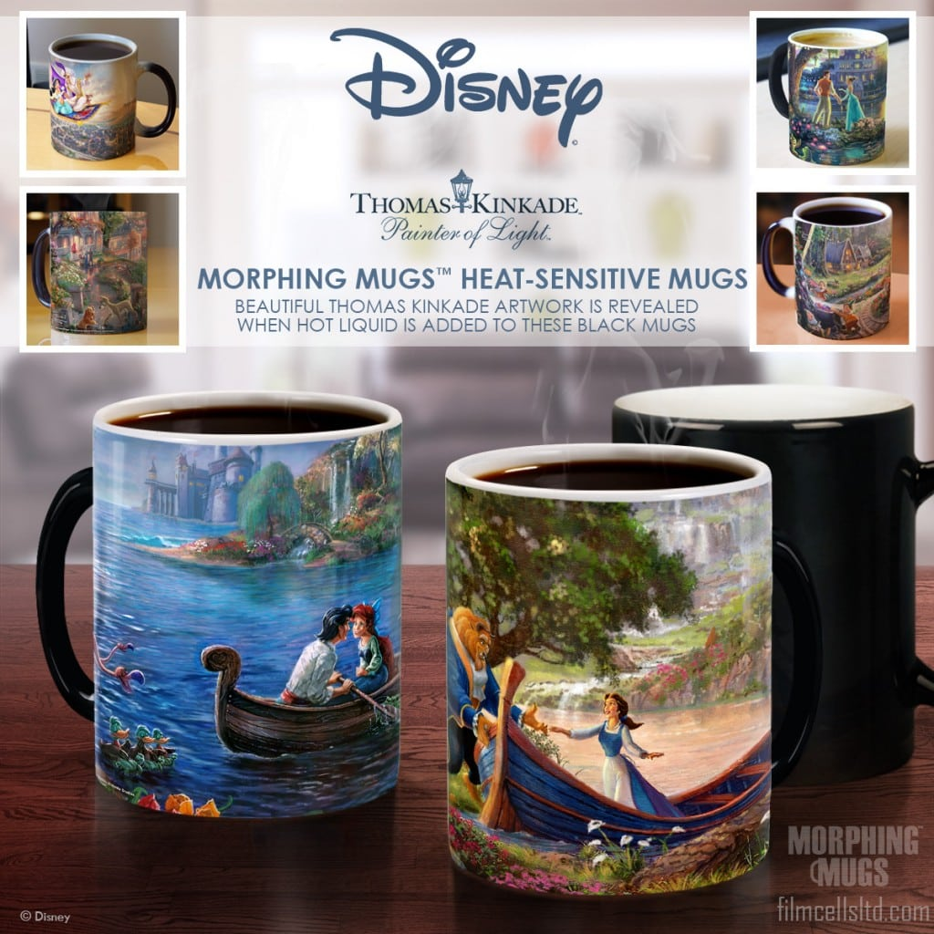 Trendsetters Mugs featuring Disney Art by Thomas Kinkade Studios