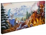 Ice Age – 16″ x 31″ Gallery Wrapped Canvas