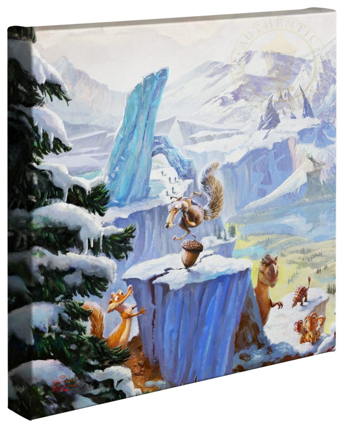 Ice Age (Left Panel Only) – 14″ x 14″ Gallery Wrapped Canvas