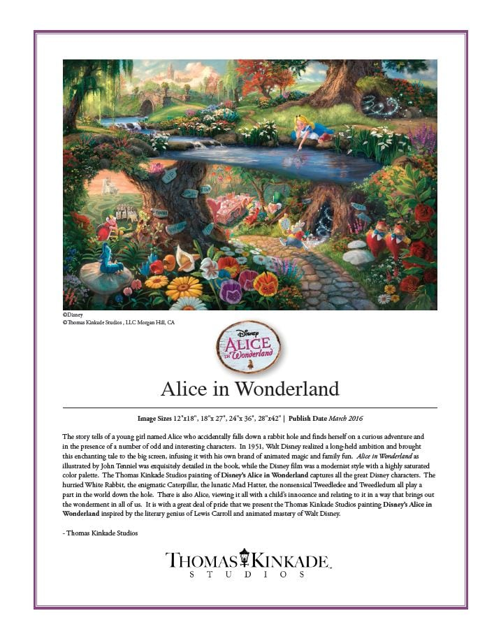 Disney Alice in Wonderland IRC