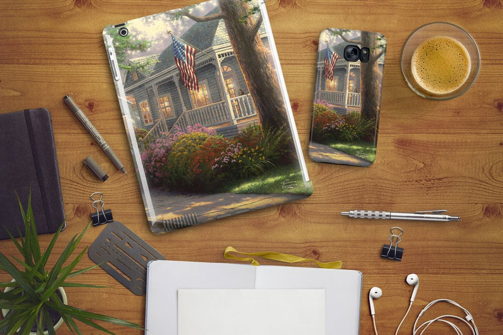 New from Decal Girl – Thomas Kinkade Studios Phone Cases