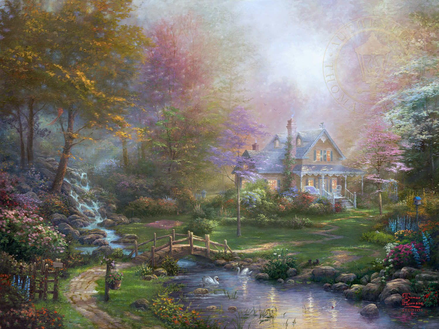 A Mother S Perfect Day The Thomas Kinkade Company