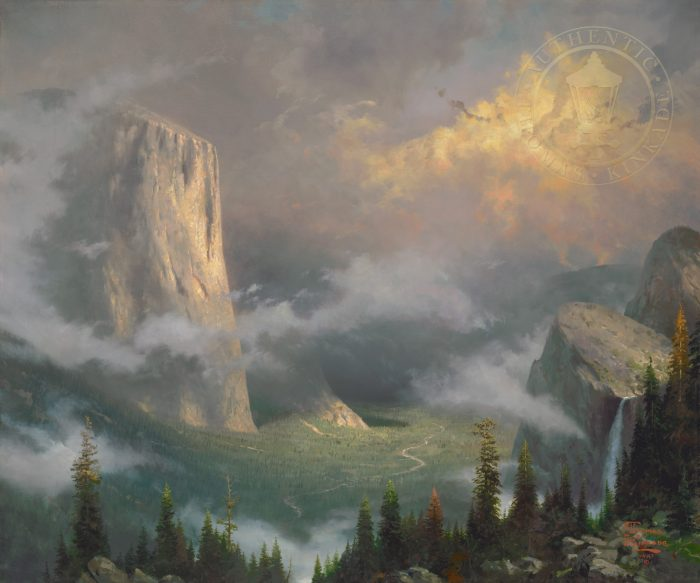 West Rim, Yosemite – Limited Edition Canvas