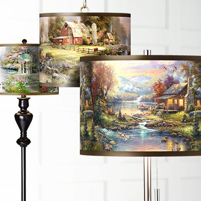 Lamps Plus Thomas Kinkade Lamp Shade