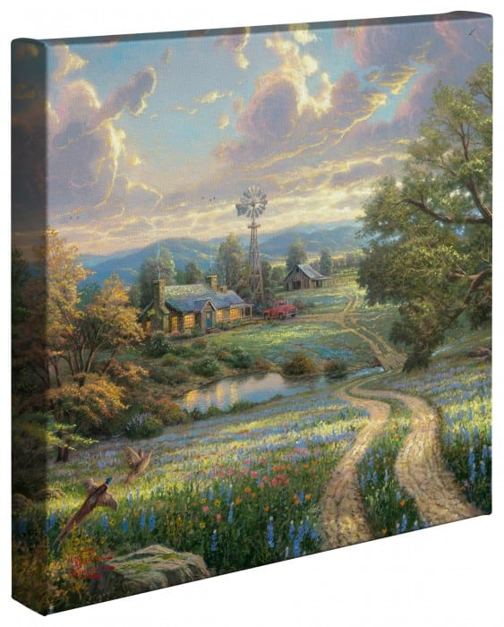 Country Living – 14″ x 14″ Gallery Wrapped Canvas