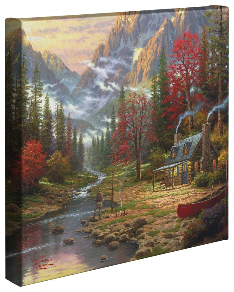 Good Life, The – 14″ x 14″ Gallery Wrapped Canvas