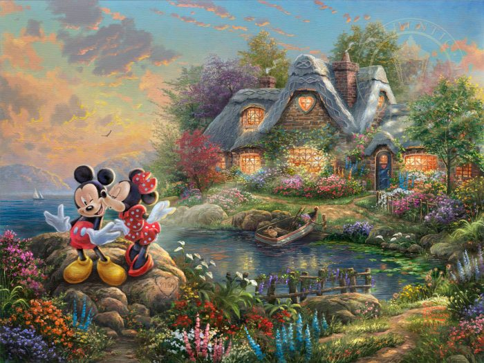 Mickey and Minnie – Sweetheart Cove – Limited Edition Art