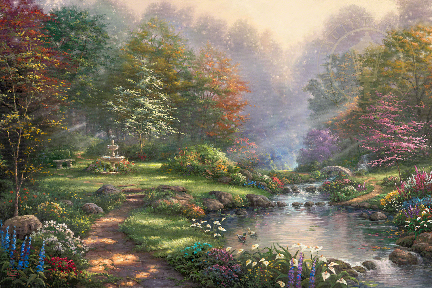 Thomas Kinkade Paintings For Sale