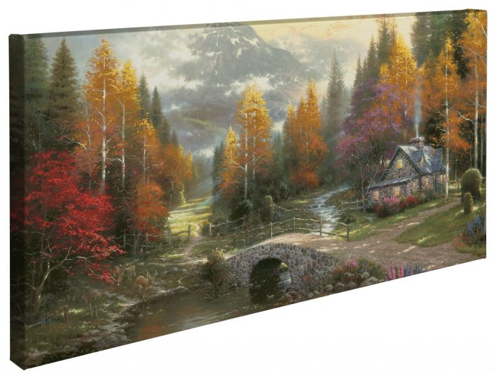 Valley of Peace – 16″ x 31″ Gallery Wrapped Canvas