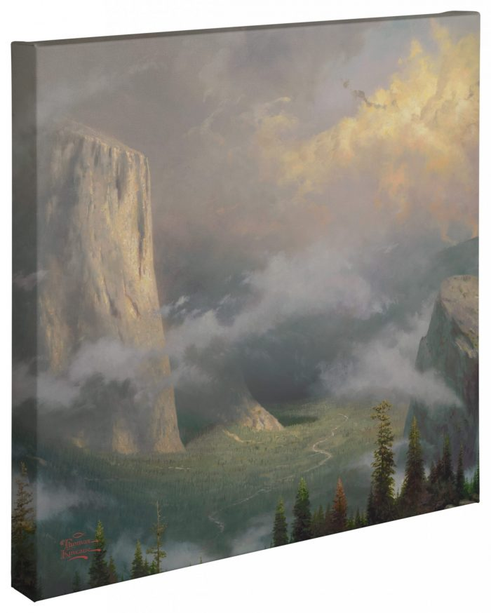 West Rim, Yosemite – 20″ x 20″ Gallery Wrapped Canvas