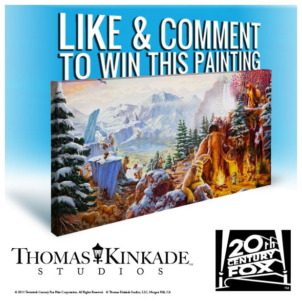 Ice Age Thomas Kinkade Giveaway