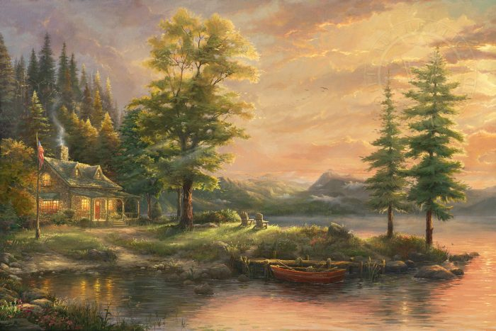 Morning Light Lake – Limited Edition Art
