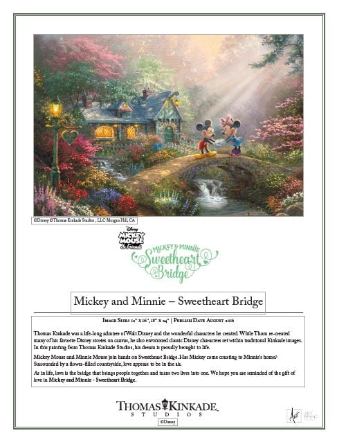 Mickey and Minnie: Sweetheart Bridge IRC