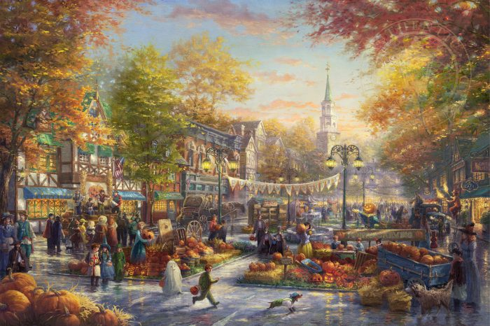 Pumpkin Festival, The – Limited Edition Canvas
