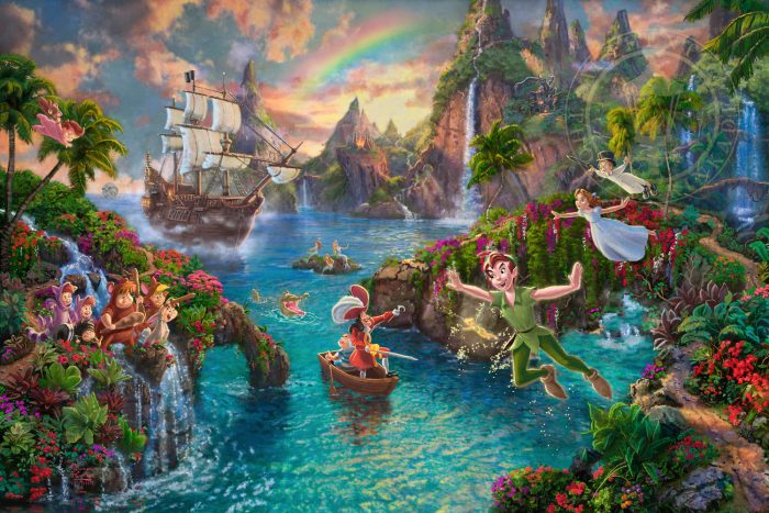 Disney Peter Pan's Never Land – Limited Edition Art
