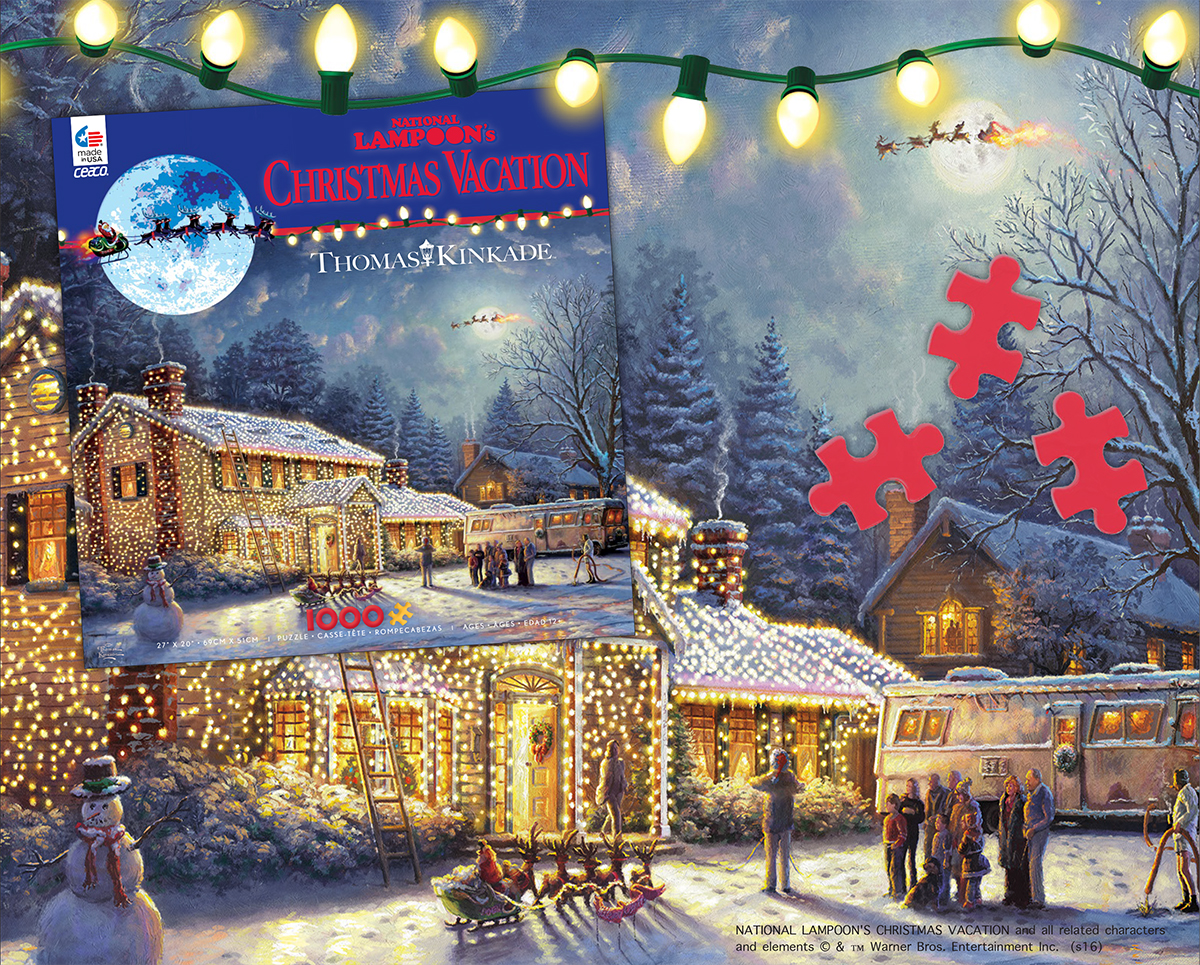 national lampoons christmas vacation puzzle now available - National Lampoon Christmas Vacation