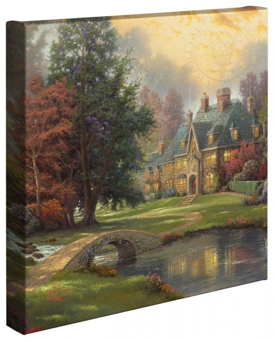 Lakeside Manor –  14″x14″ Gallery Wrapped Canvas