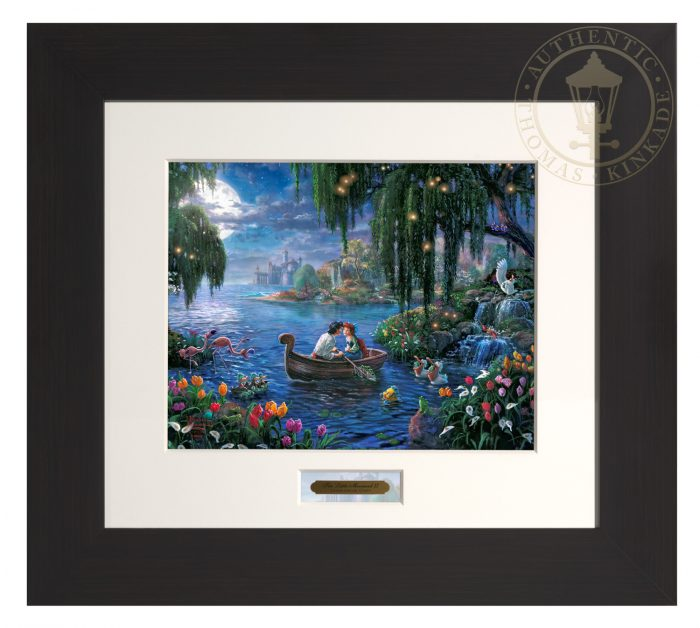 The Little Mermaid II – Modern Home Collection (Espresso Frame)