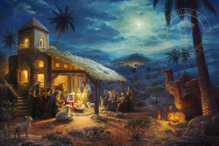 Nativity, The – Limited Edition Canvas