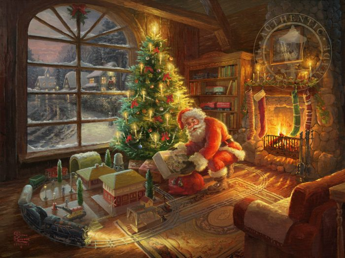 Santa's Special Delivery – Limited Edition Art