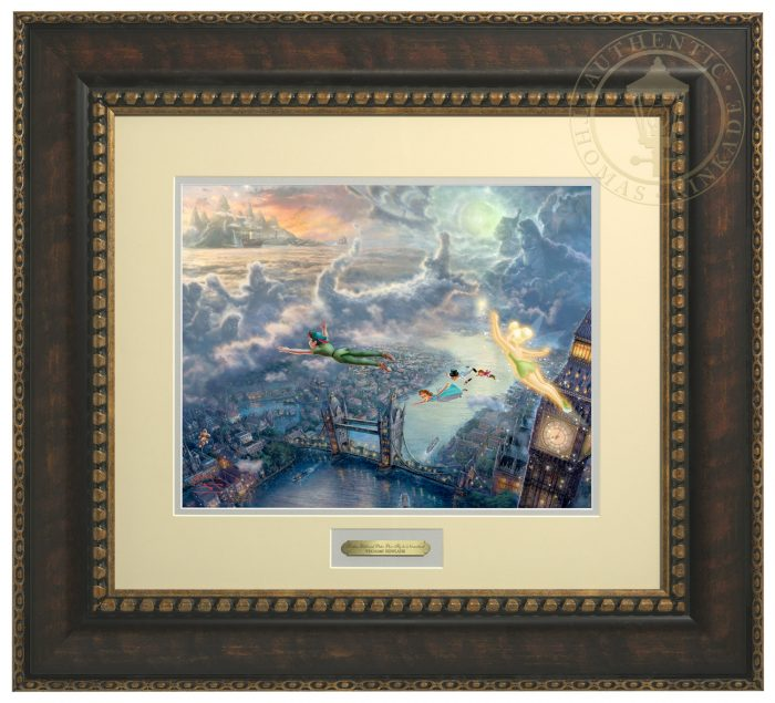 Tinker Bell and Peter Pan Fly to Neverland – Prestige Home Collection