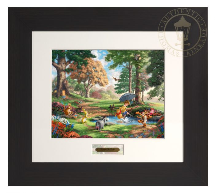 Winnie The Pooh I – Modern Home Collection (Espresso Frame)