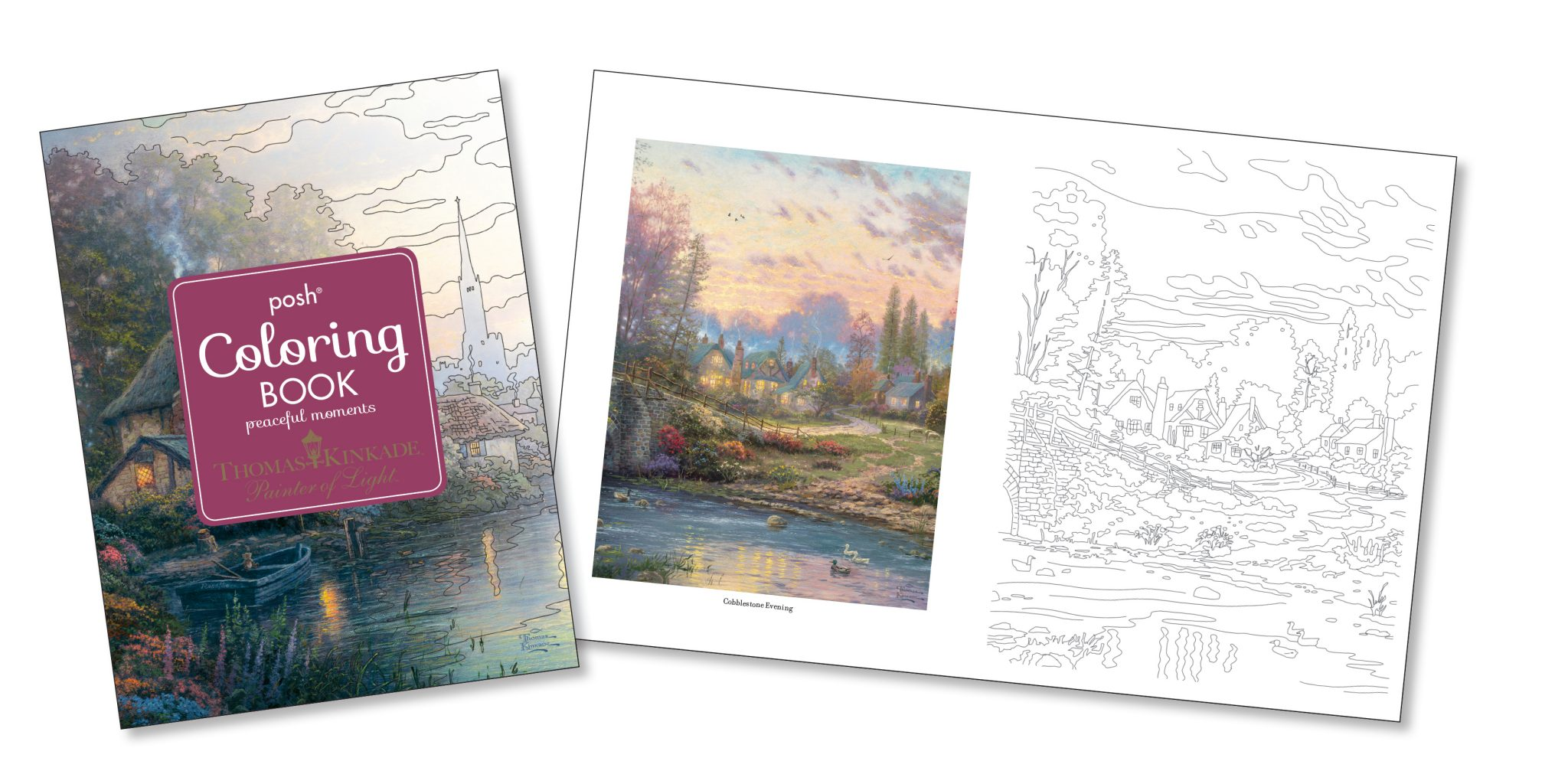 New Thomas Kinkade Posh Coloring Book Like Contest