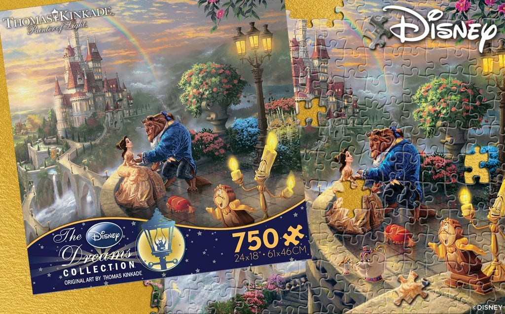 Beauty and the Beast Falling In Love Ceaco Puzzle
