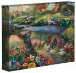 Alice in Wonderland – 8″ x 10″ Gallery Wrapped Canvas
