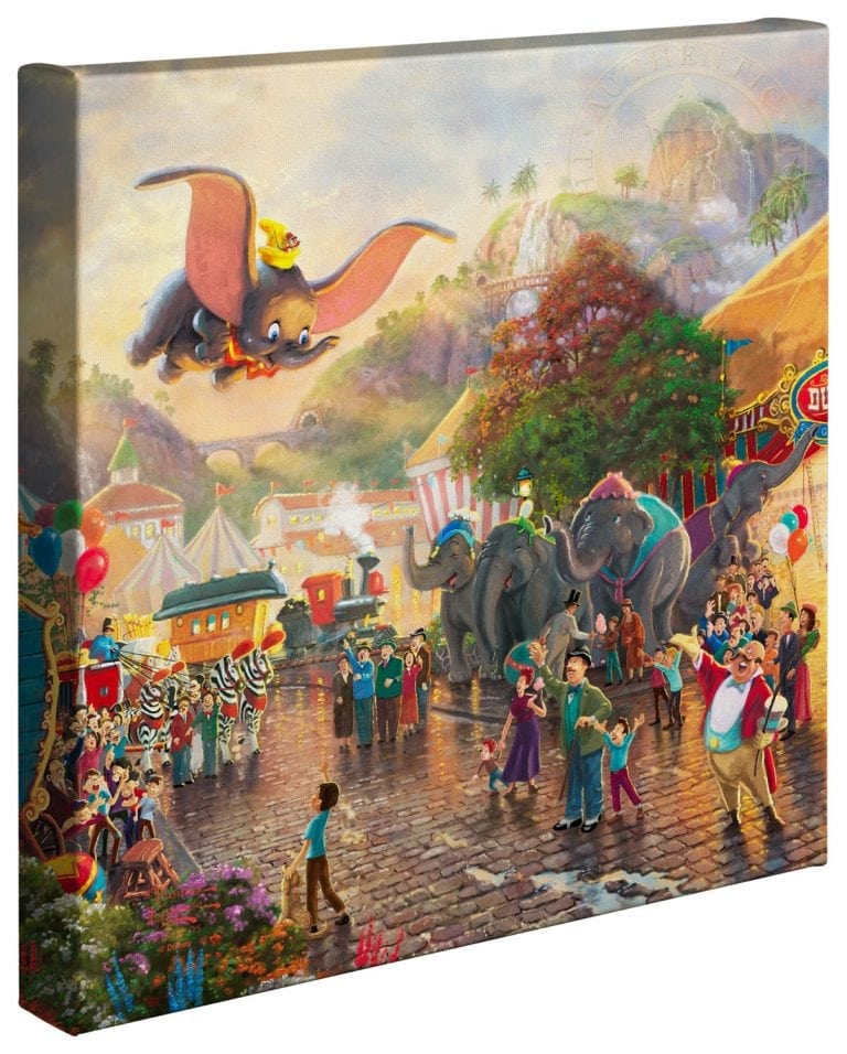 Disney Dumbo – 14″ x 14″ Gallery Wrapped Canvas