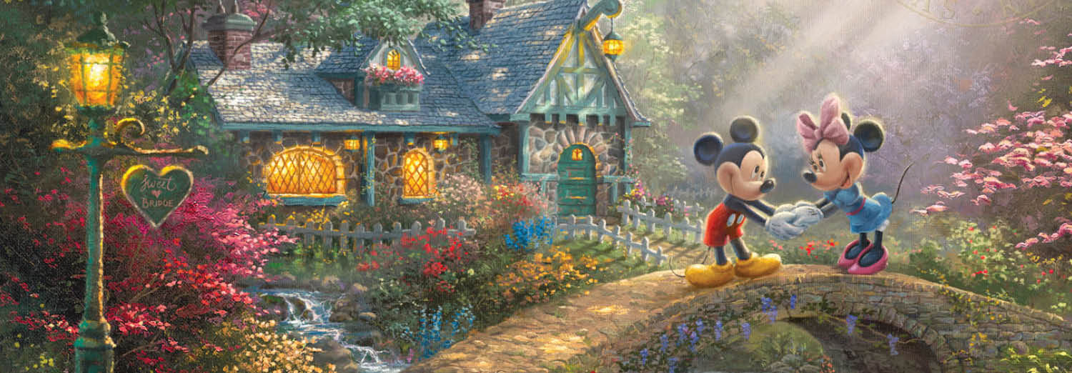 Happy Thanksgiving Images Free >> Disney Movies Turned Into Paintings   The Thomas Kinkade Company